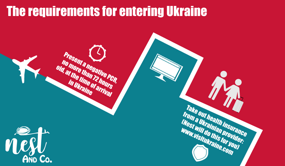 The requirements for entering Ukraine